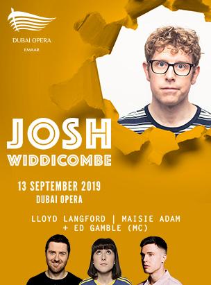 Josh Widdicombe Live poster