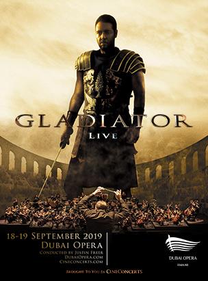 Gladiator Live In Concert poster