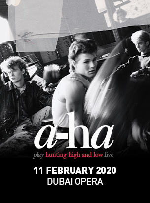 a-ha LIVE AT DUBAI OPERA poster