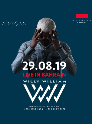 Willy William live at Bushido  poster