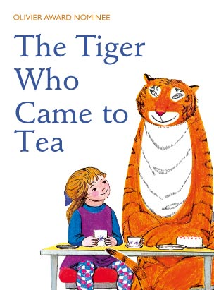 The Tiger Who Came To Tea poster