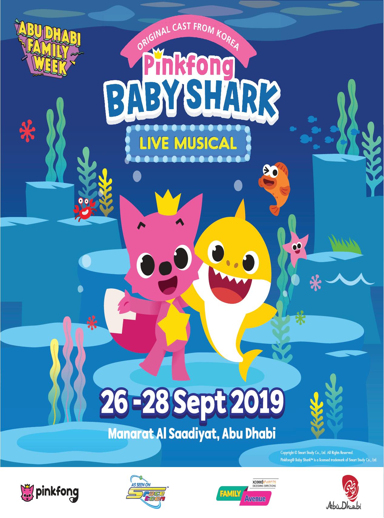 Pinkfong Baby Shark Live Musical poster