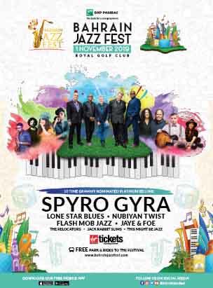 Bahrain Jazz Fest 2019  poster
