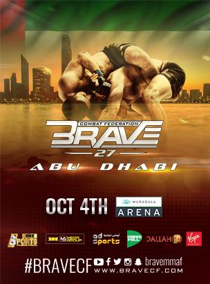 Brave 27 Abu Dhabi  poster