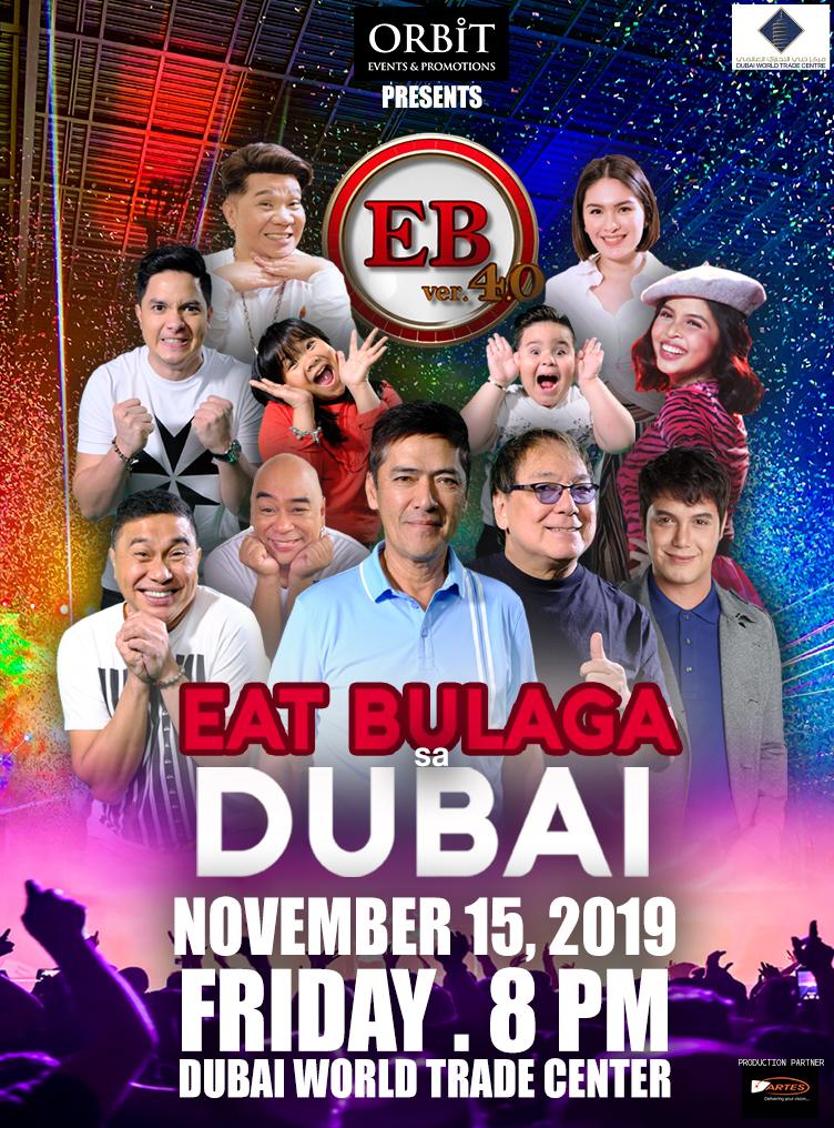 Eat Bulaga Live in Dubai  poster