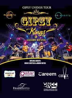 Gipsy Kings by Andre Reyes poster