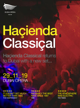 Hacienda Classical poster