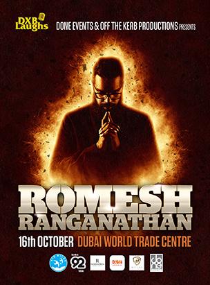 DXBLaughs: Romesh Ranganathan  poster