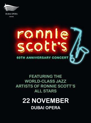 Ronnie Scott Live - 60th Anniversary Concert poster