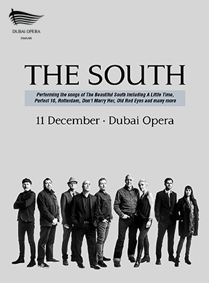 The South Live poster