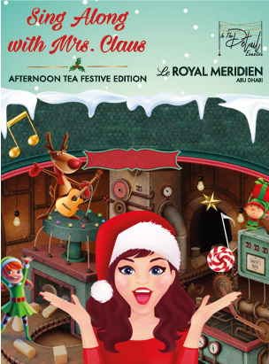 Sing along with Mrs.Claus  poster