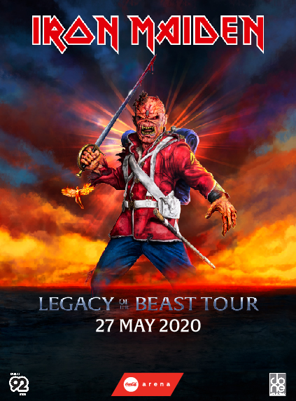 Iron Maiden - Legacy Of The Beast Tour poster