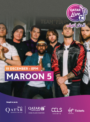 Maroon 5 in Qatar Live  poster