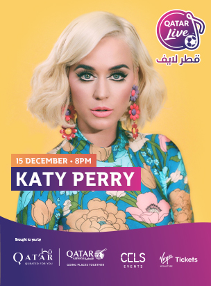 Katy Perry in Qatar Live  poster