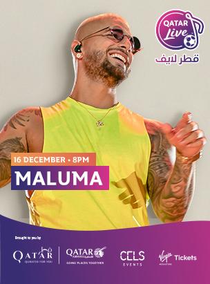 Maluma in Qatar Live  poster