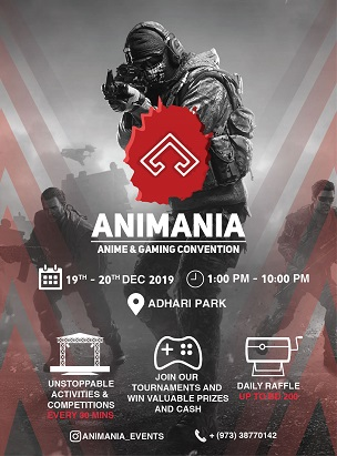 Animania convention 2019  poster