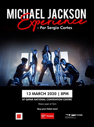The Michael Jackson Experience by Sergio Cortes  poster