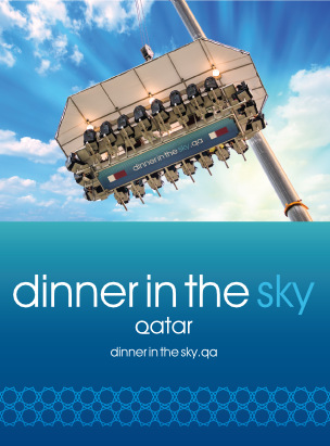 Dinner in the Sky  - Qatar  poster