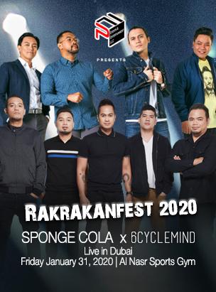 Rakrakanfest 2020  poster