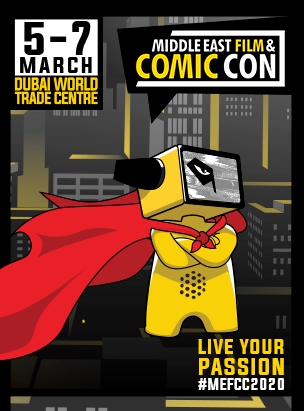 Middle East Film & Comic Con 2020  poster