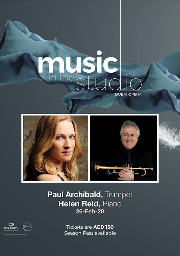 Paul Archibald & Helen Field poster