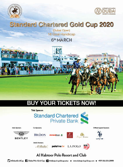 Standard Chartered Gold Cup 2020  poster