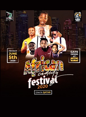 African Comedy Festival  poster