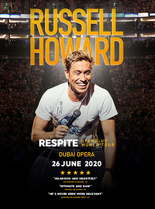 Russel Howard Live  poster
