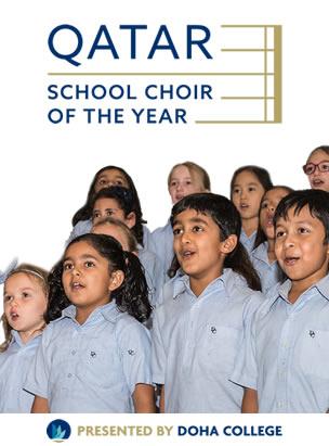 Qatar School Choir of the Year poster