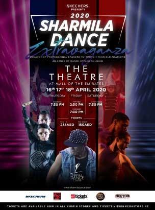 Sharmila Dance Extravaganza 2020 poster
