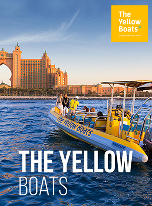 The Yellow Boats Special 25% Discount Offer on Charter Tours poster