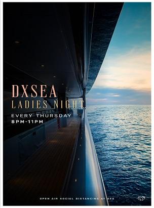 Mega Yacht Ladies night Cruise poster