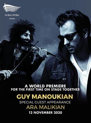 Guy Manoukian & Ara Malikian  poster
