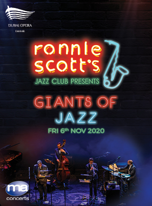 Ronnie Scott's Giants of Jazz poster