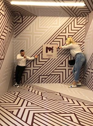 Museum of Illusions Dubai poster