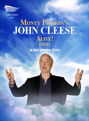 Monty Python's John Cleese Alive! (Just) poster