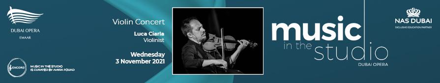Luca Ciarla  - Violinist