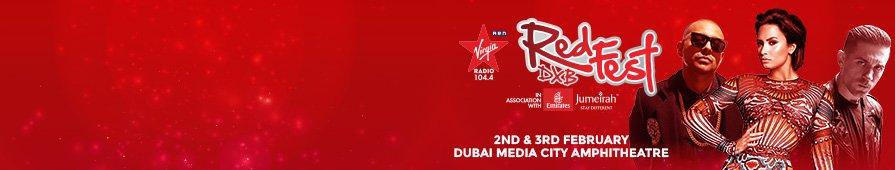 Virgin Radio RedFestDXB 2017