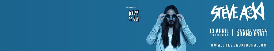 Steve Aoki Live in Doha!