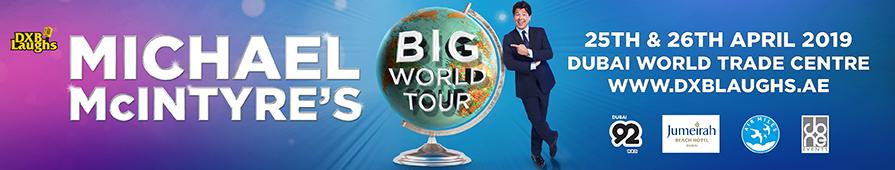 DXBLAUGHS: MICHAEL MCINTYRE'S BIG WORLD TOUR