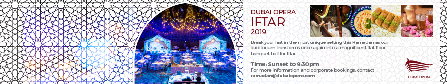 Dubai Opera Iftar