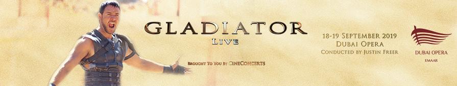 Gladiator Live In Concert