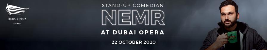Stand-up Comedian Nemr at Dubai Opera