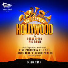 The Sound of Hollywood by Dubai Opera Big Band