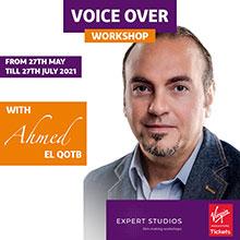 Voice Over Workshop by Famous Voice Coach Ahmed El Qotb