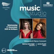 Music in the Studio Bettina Schweiger & Amira Fouad