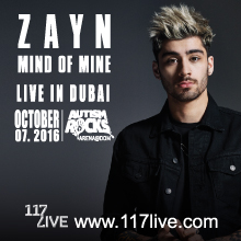 Zayn Live in Dubai