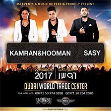 Kamran & Hooman + Sasy Live in Dubai