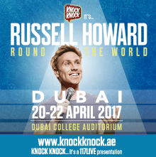 Russell Howard Round the World - Live Tour