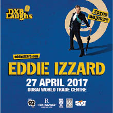 DXBLaughs: Eddie Izzard Force Majeure